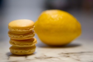 Lemon Macarons Duo